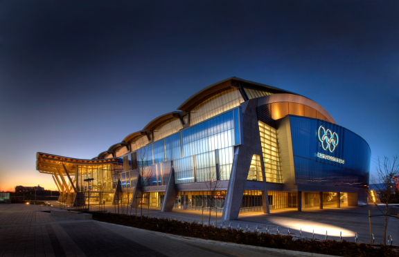 Richmond olympic oval total lighting solutions