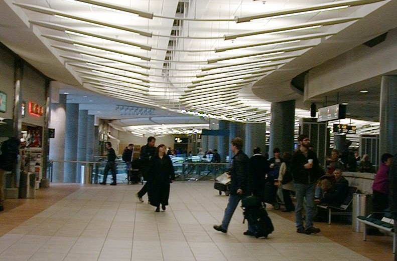 Vancouver international airport domestic terminal building